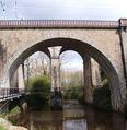 Guingamp, Sainte-Croix. Ponts de chemin de fer sur le Trieux (2ème moitié du XIXème siècle) (2008)