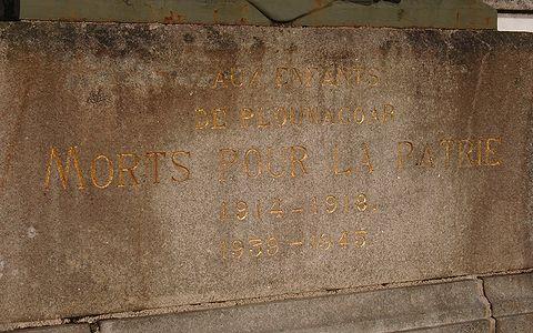 Le monument aux morts de la grande guerre