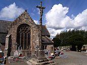 Le bourg, croix de cimetière (2ème moitié du XIXème siècle) ( 2008)